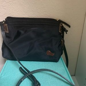 Small black, Crossbody Dooney & Bourke Nylon Purse